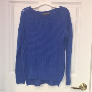 360 sweater blue long sleeved top
